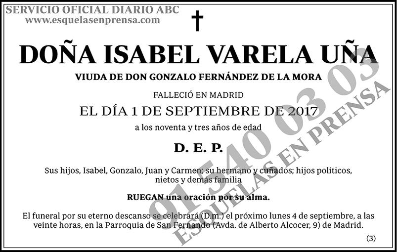 Isabel Varela Uña